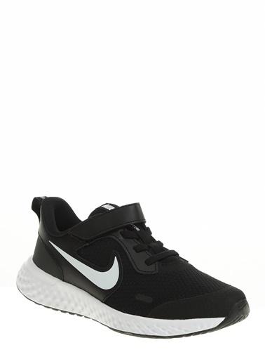 Nike Unisex Çocuk Siyah Spor Ayakkabı BQ5672 - 003 NIKE REVOLUTION 5 (PSV) Siyah